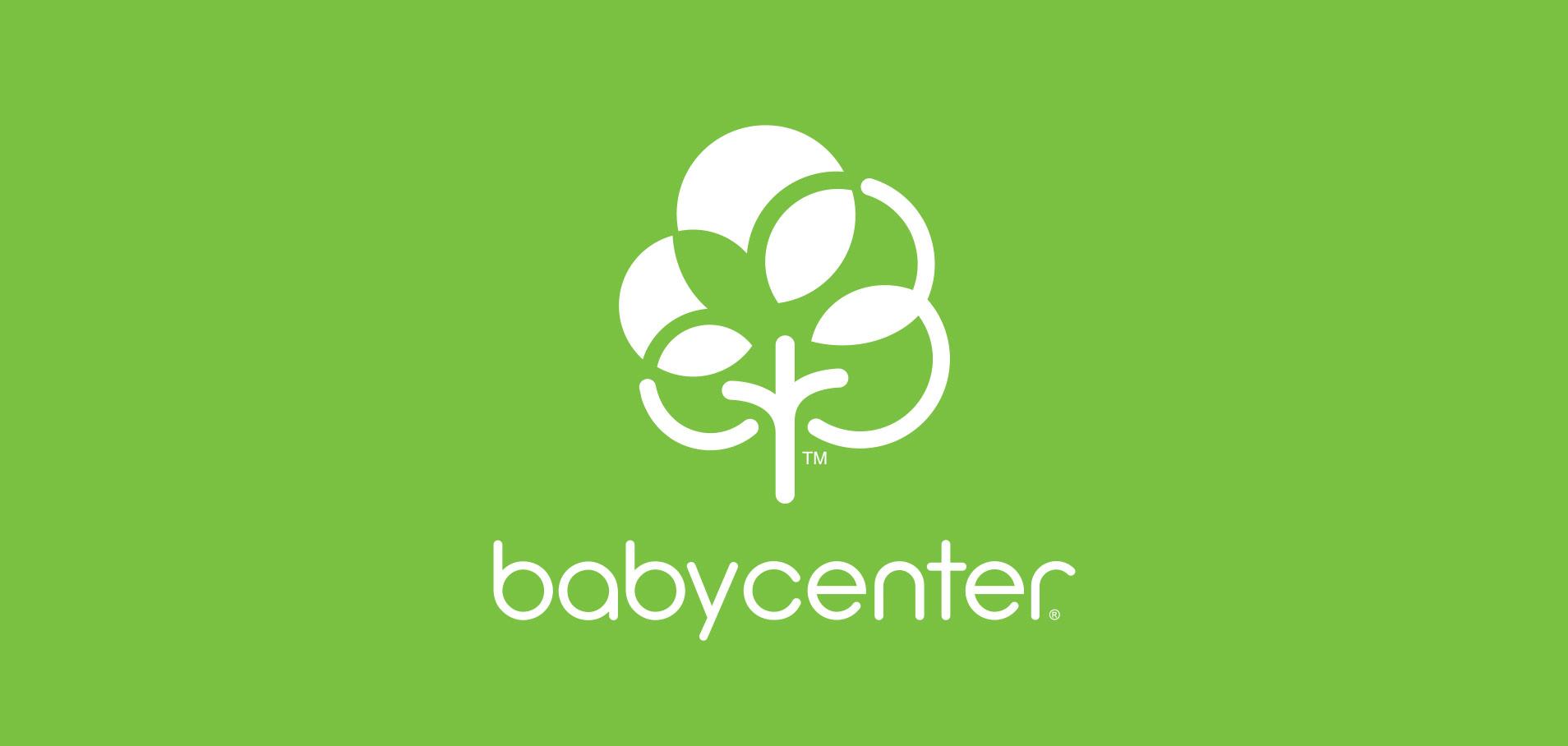 Baby center logo green image