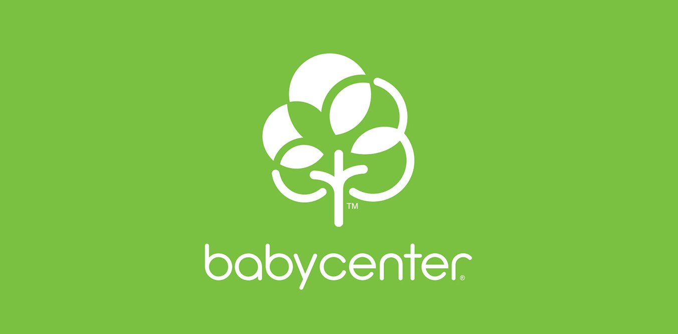 Baby center logo green image