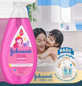 active kids™ shiny drops shampoo