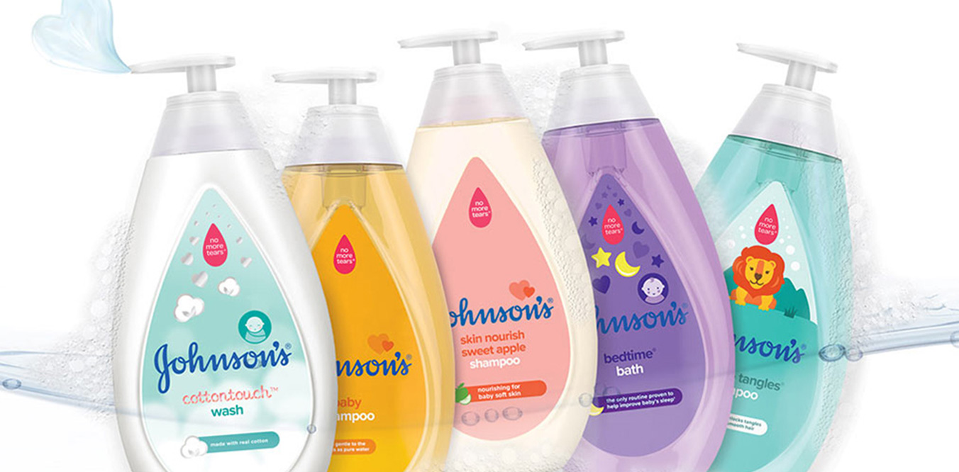 Johnsnon's Baby product line image